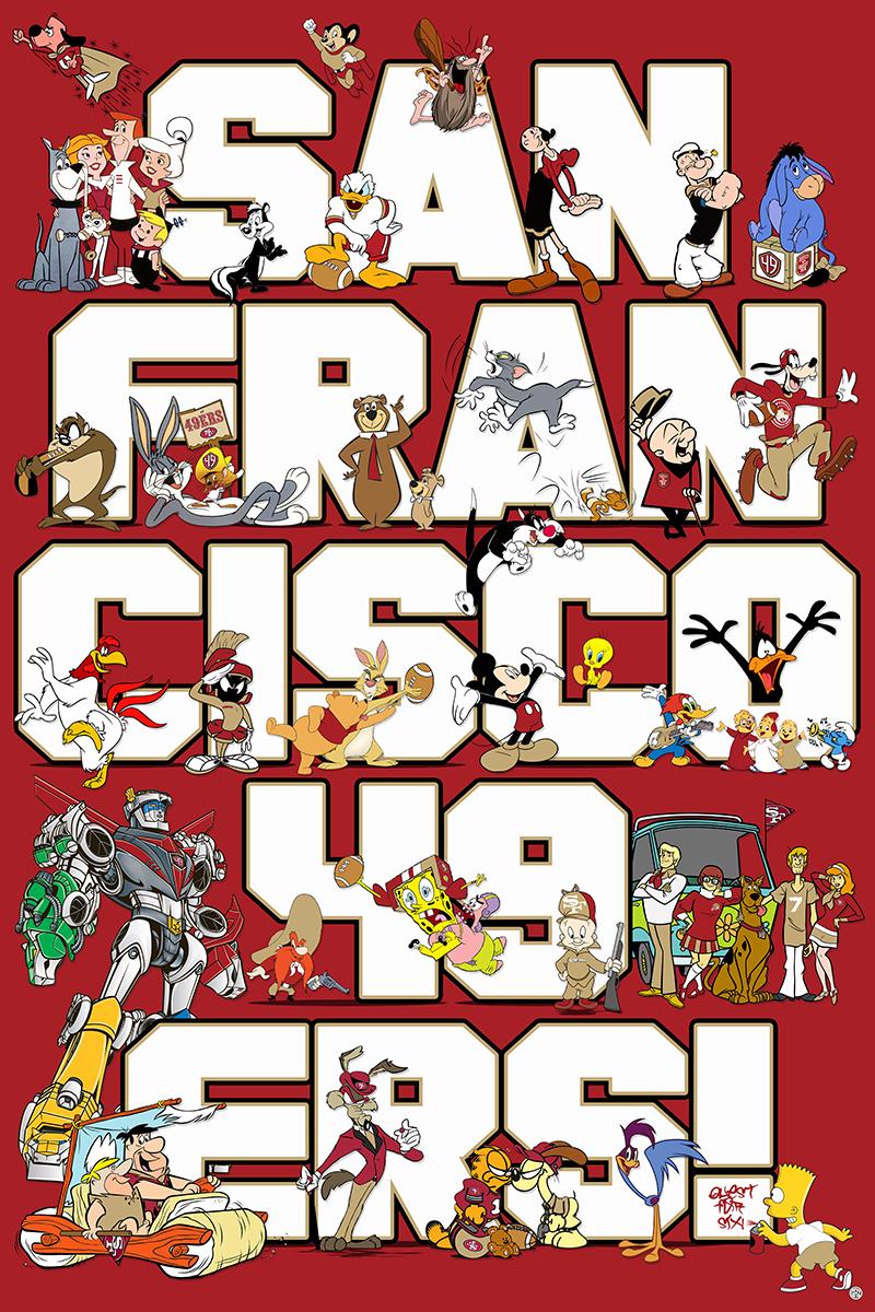 Gregory anthony cartoon animated 49ers cartoons voltagebd Choice Image