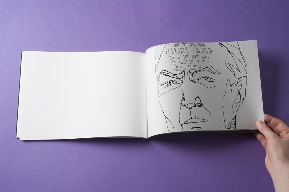 vertigo book desktop publishing   line black and white