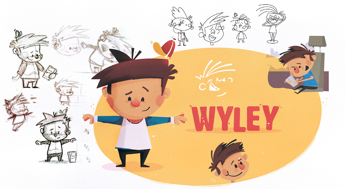 Character Design Best Book : Children s book character design process on wacom gallery