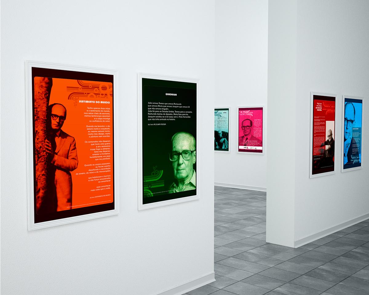 literatura Exposição carlos drummond Biblioteca publica