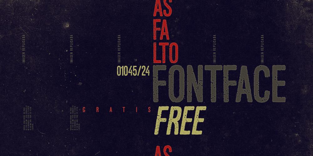 Fernando fernando forero free font font face Typeface texture art freebie