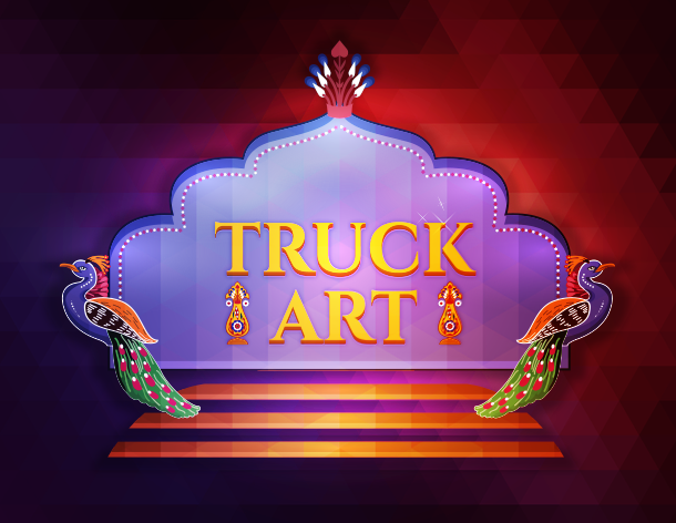 Truck Art Wedding Card Frame On Behance