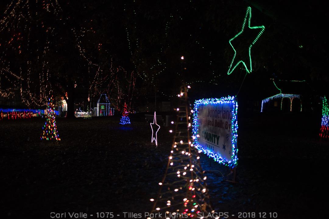 Tilles Park Christmas Lights.1075 Tilles Park Lights Slagps 2018 12 10 On Behance