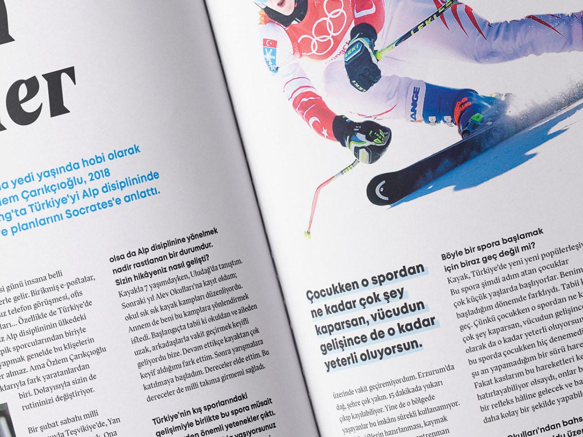 graphic design magazine cover type typography   digital print art sport