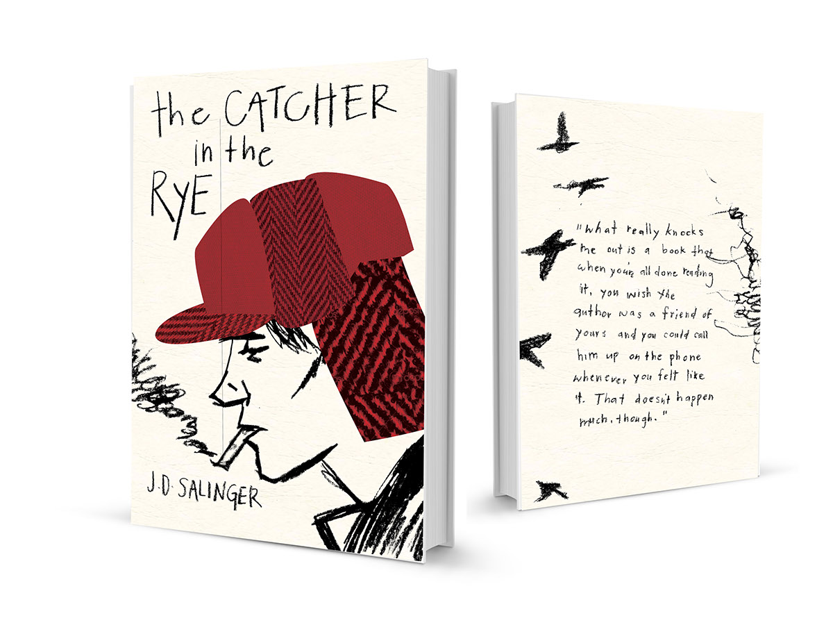 The catcher in the rye on behance the red hunting hat that our main character wears is a consistant symbol and theme throughout the story it represents holdens desire to stand out among buycottarizona Images