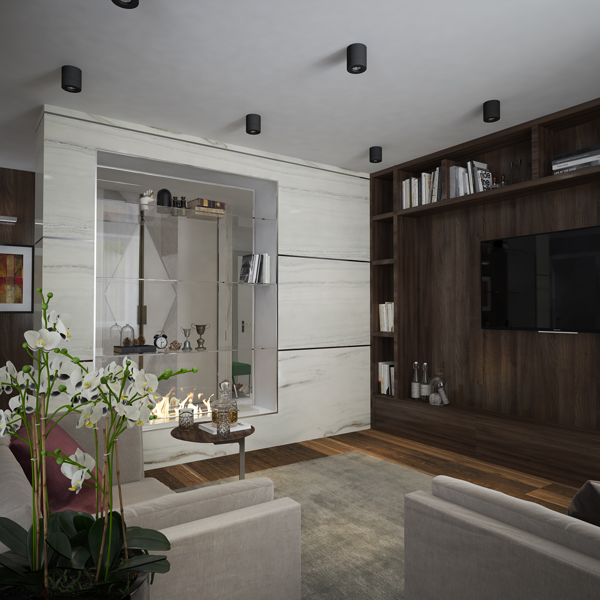 #3D #livingroom