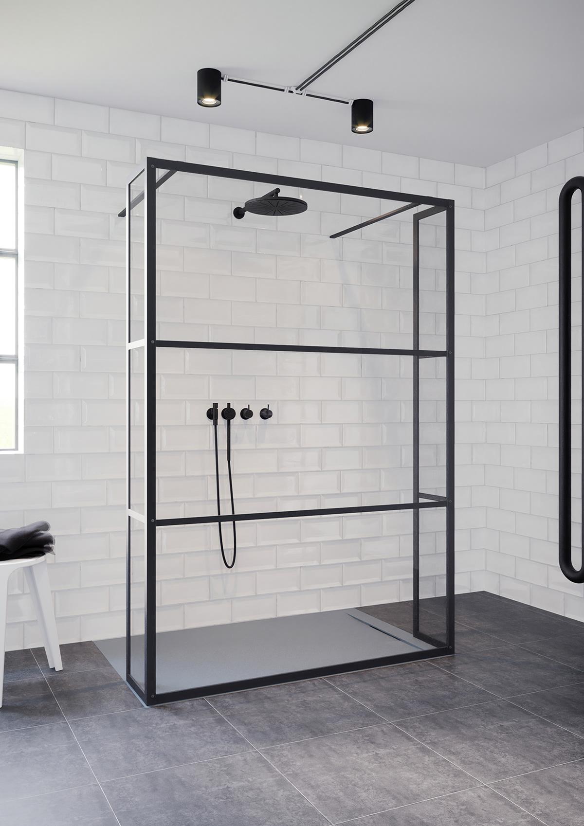 Image may contain: floor, bathroom and indoor