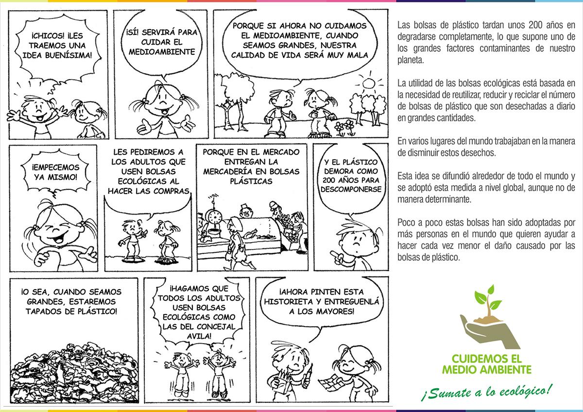 Spot Cambiemos roberto avila pro tucuman pro tucuman argentina Bolsas ecológicas