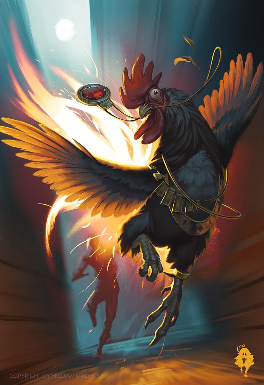 book illustration creature game ILLUSTRATION  mythology rpg RPG game Slavic