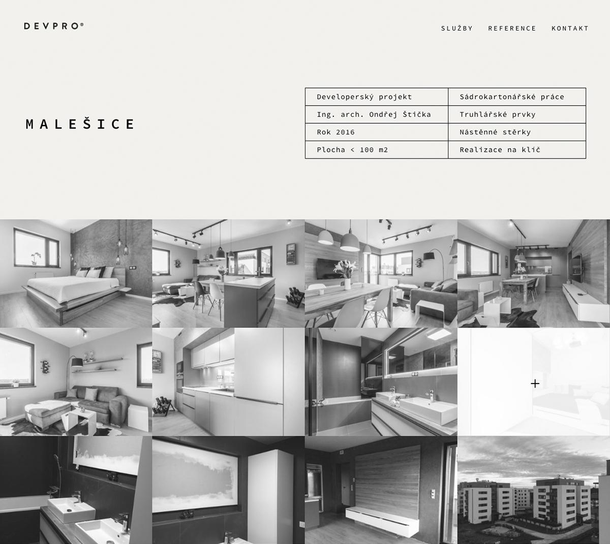 Corporate Identity wordpress divi construction company prague
