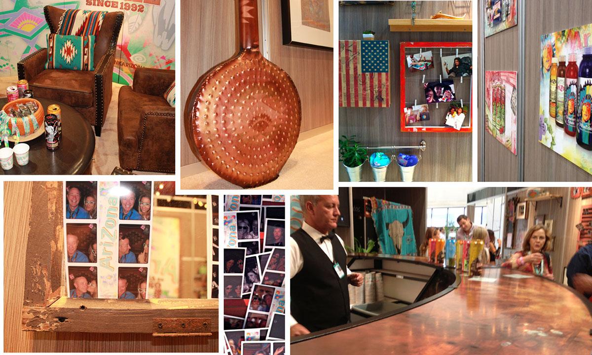 Arizona Beverages,Mpire,NACS,convention,booth design,catalog design,banner design,Interior Installation