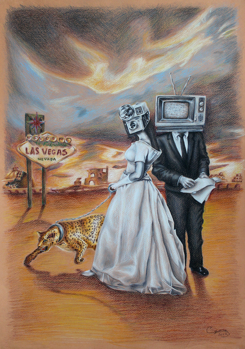 surrealism humanity social commentary subconscious