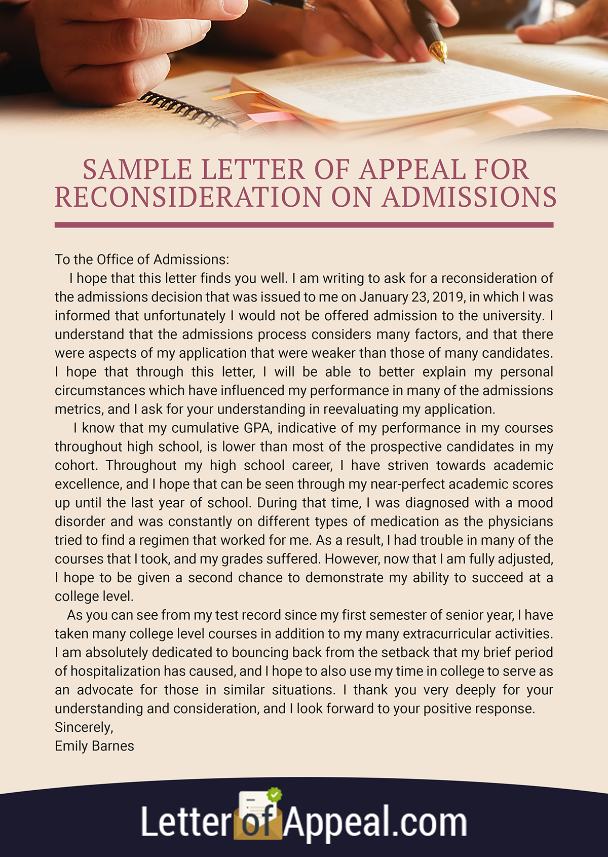 Sample Letter Of Appeal For Reconsideration from mir-s3-cdn-cf.behance.net