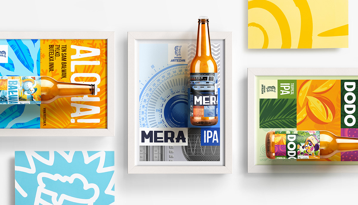 Colorful Artezan Brewery Rebranding By Fuse Collective