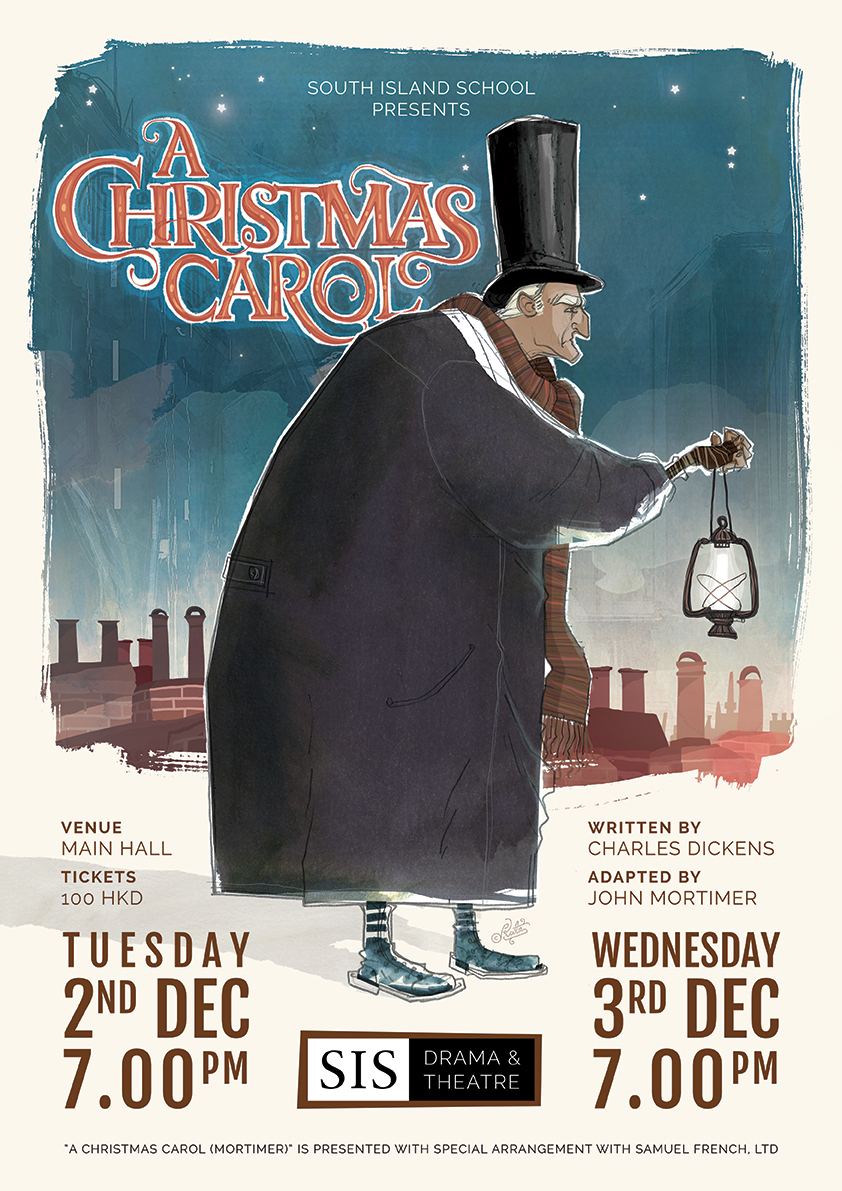 A Christmas Carol Poster.A Christmas Carol Poster On Behance