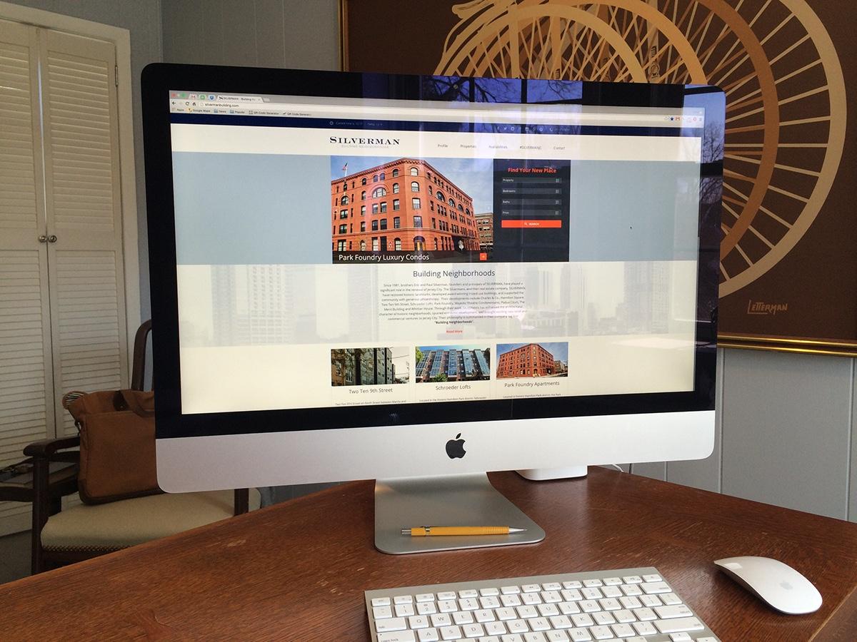 Silveran Building Real Estate Website Design and Development