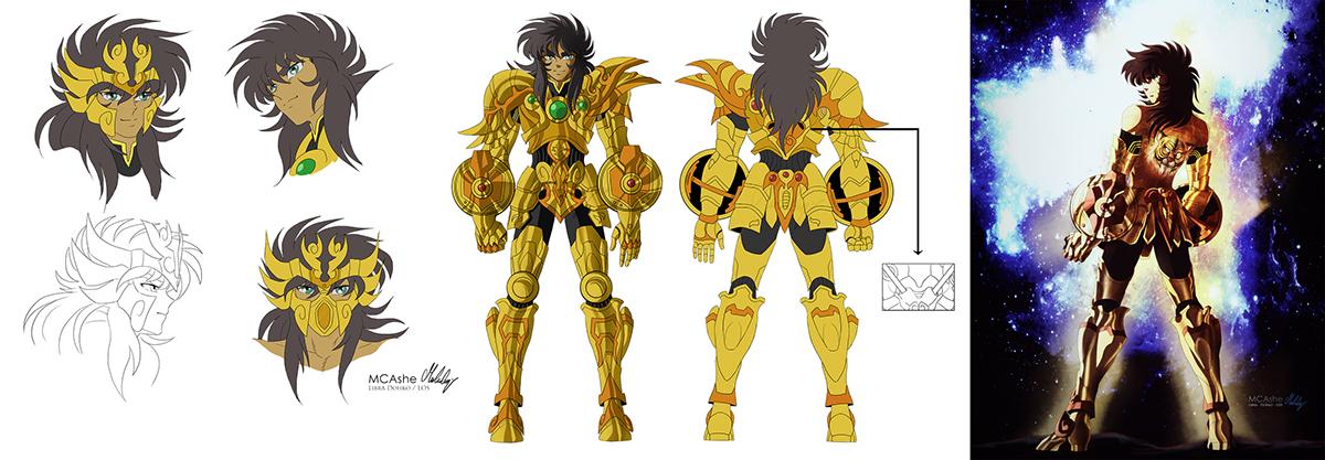 Dohko Legend of Sanctuary Concept on Behance