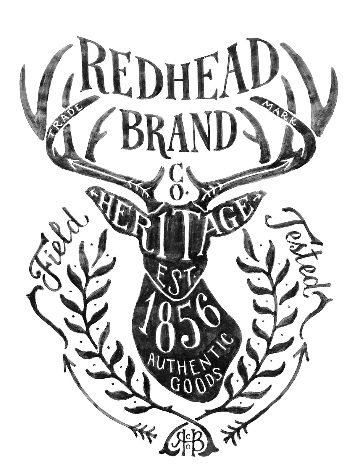 Bass Pro Shop Redhead Brand On Behance
