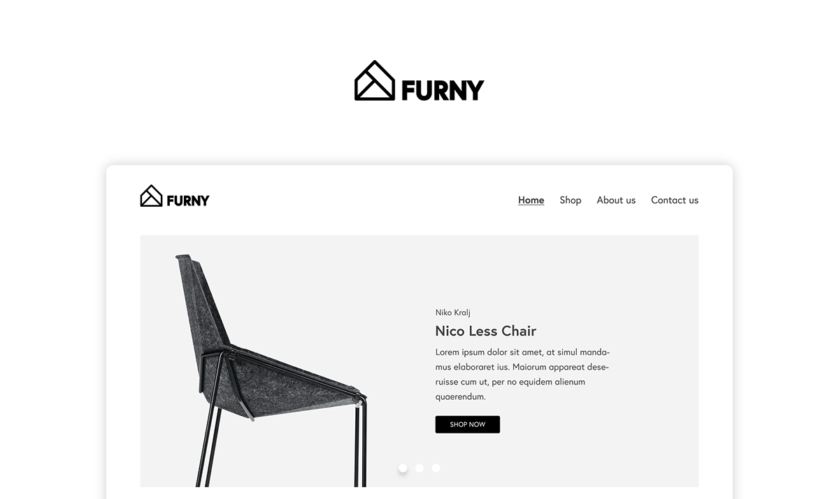 Furny - Website and Identity on Student Show