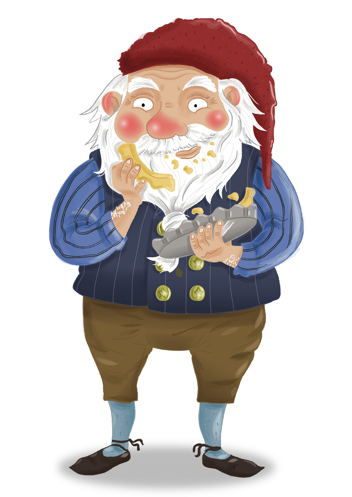 Yule Lads iceland Folklore gnome stubby pie myth winter Christmas shoes