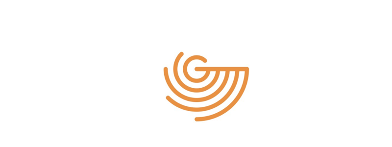G Radar Letter Mark Logo Design Symbol