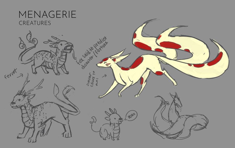 Menagerie: Creatures
