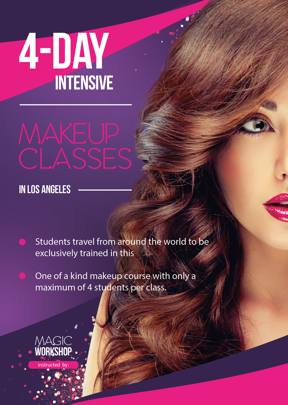 Flyer For Makeup Classes On Behance