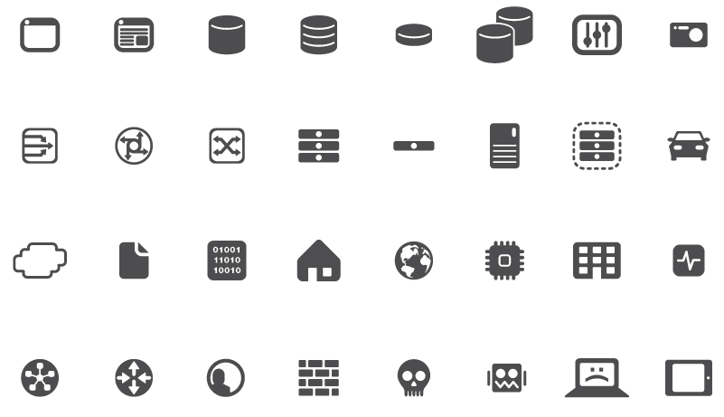 F5 U2014network Diagram Icons On Behance