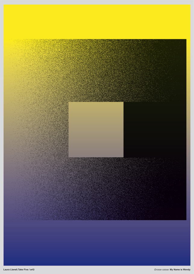 Series of posters for contemporary art
