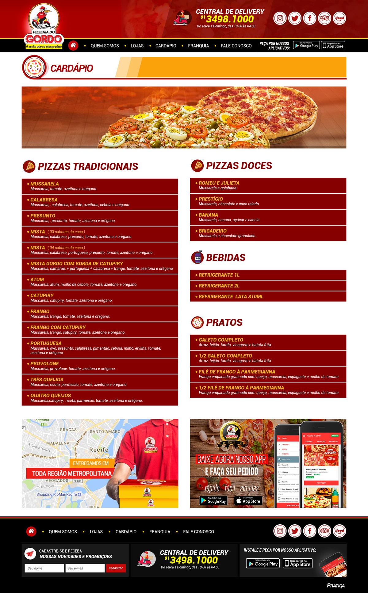 Pizza pizzaria pizzeria gordo