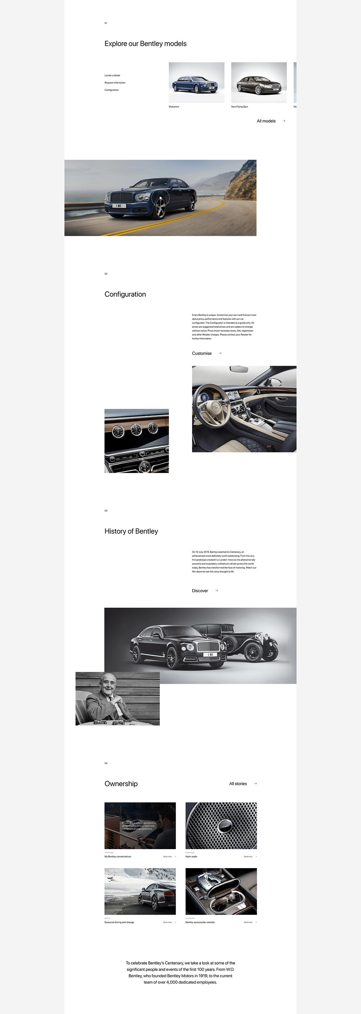 Bentley New Website On Aiga Member Gallery