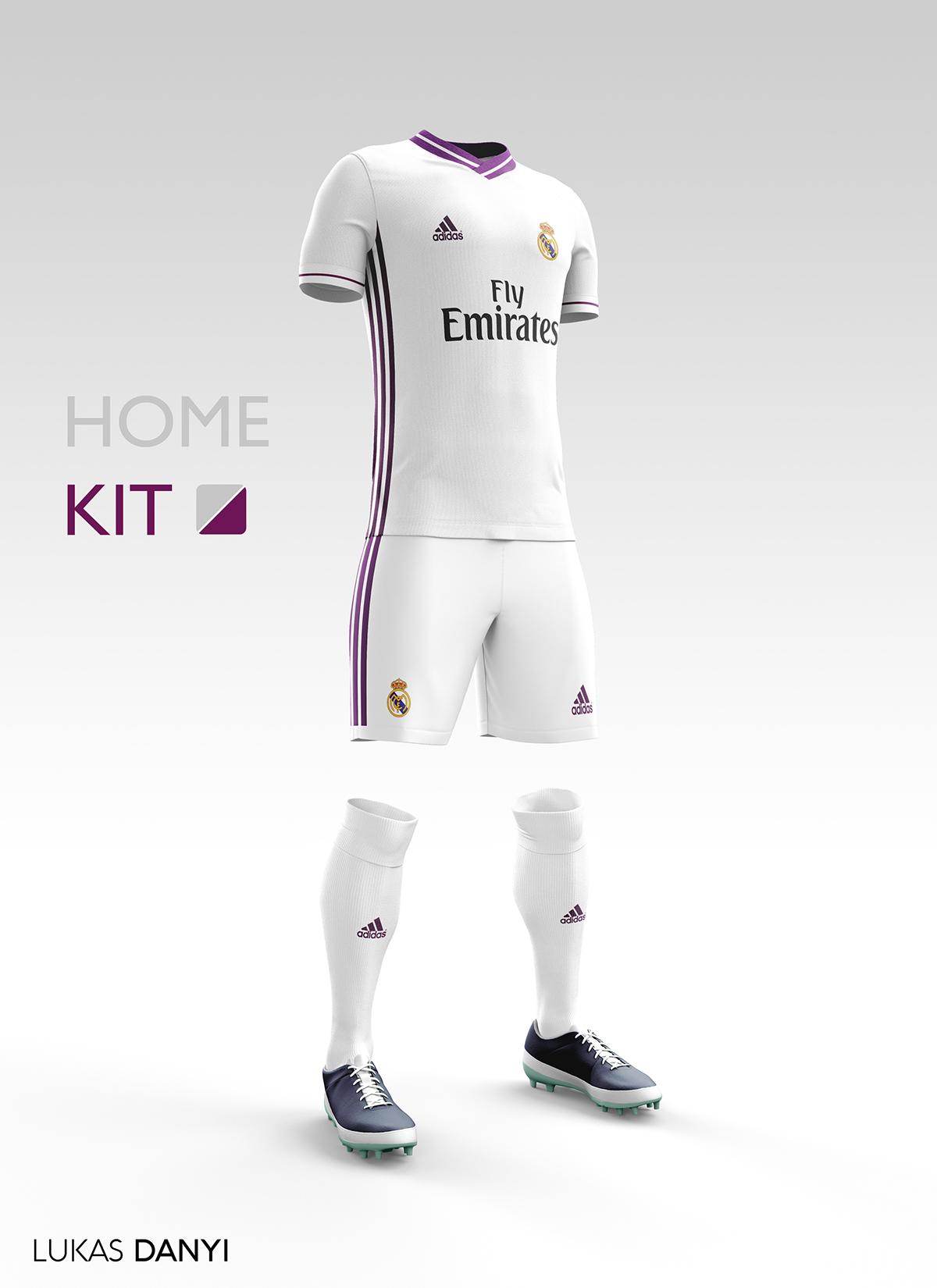Real Madrid CF Football Kit 16/17  on Behance