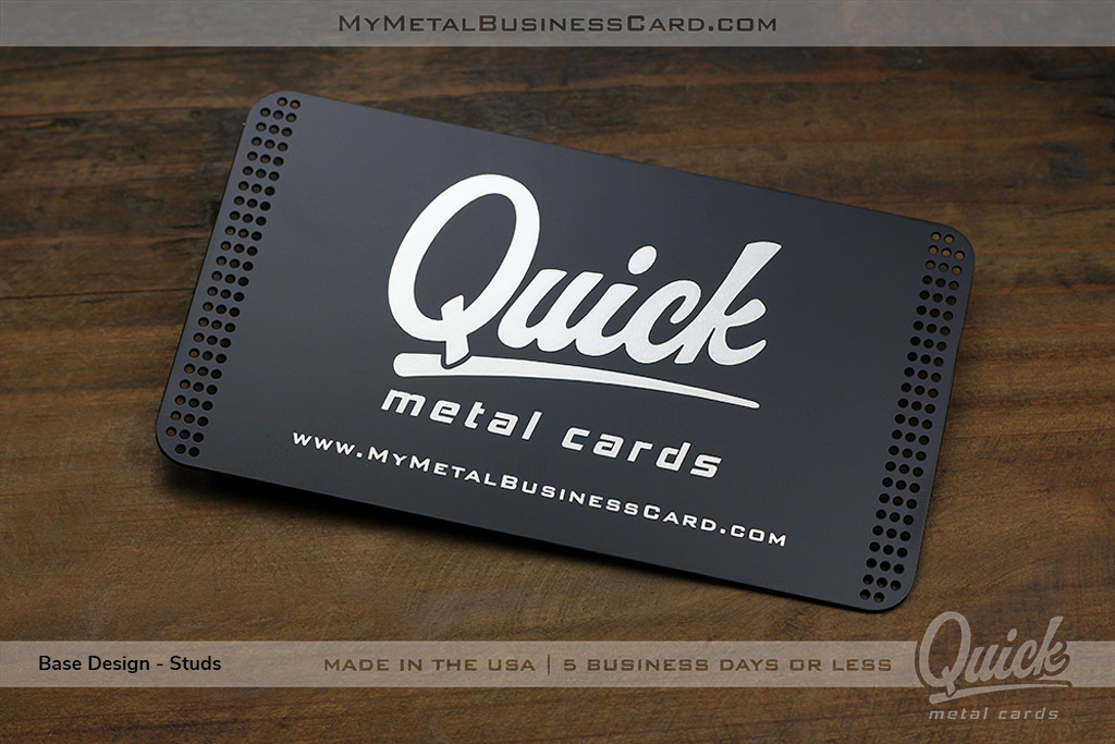 Quick metal business cards ready in 24 hours on behance colourmoves