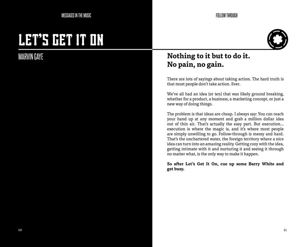 book print Layout