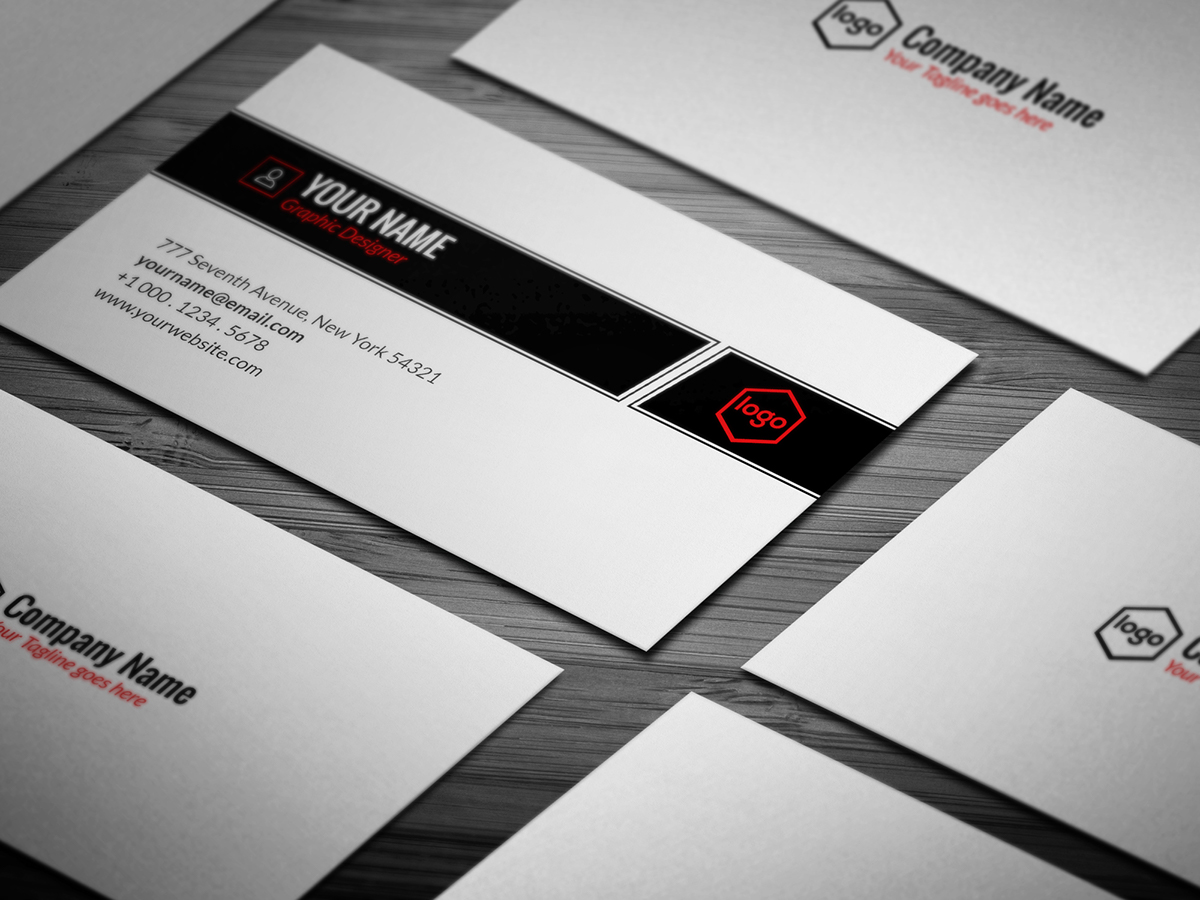10 free professional generic business card templates on student show basic business card download here wajeb Choice Image