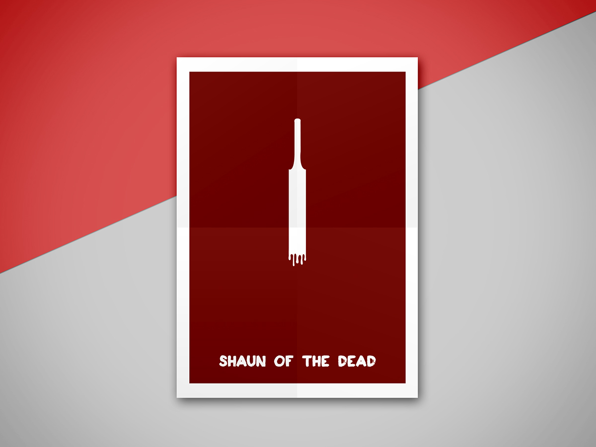 posters Movies peliculas cine Edgar Wright Cornetto Trilogy Hot Fuzz the world's end Minimalism shaun of the dead