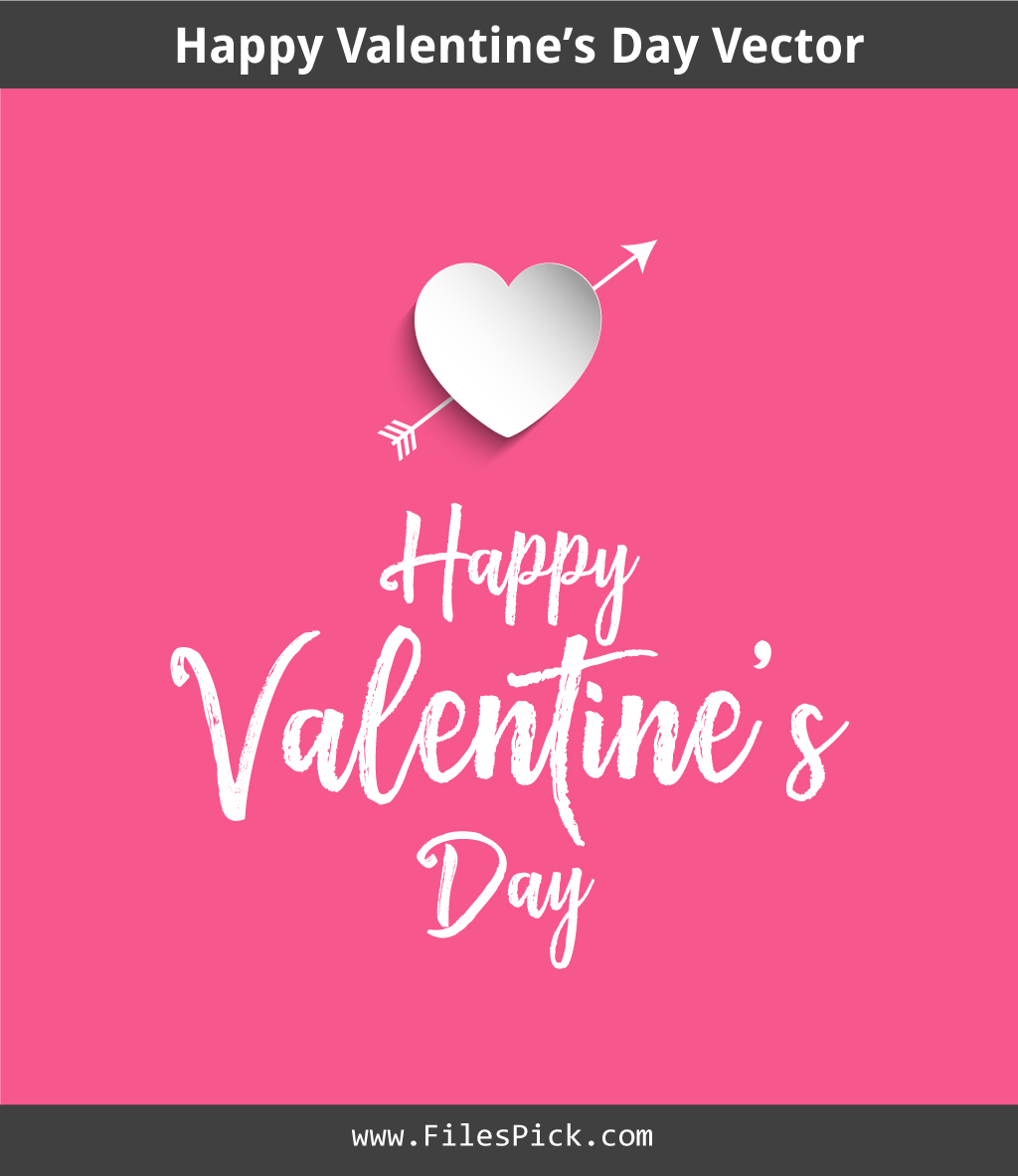 Valentine S Day Vector Free Download On Behance