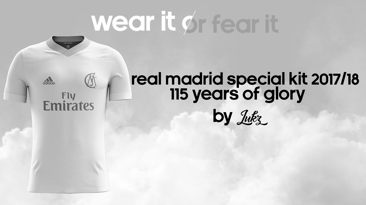 662803c1b Real Madrid Special Kit Home 2017 18 by Lukz on Behance