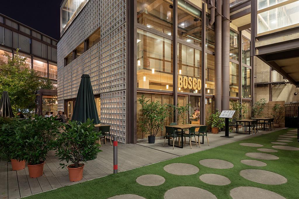 Restaurante Bosco De Lobos On Behance
