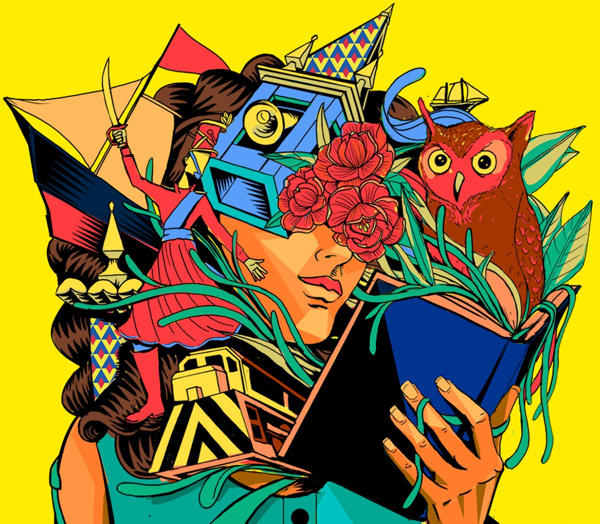 bahia cachoeira festival flica identidade visual jout jout literatura