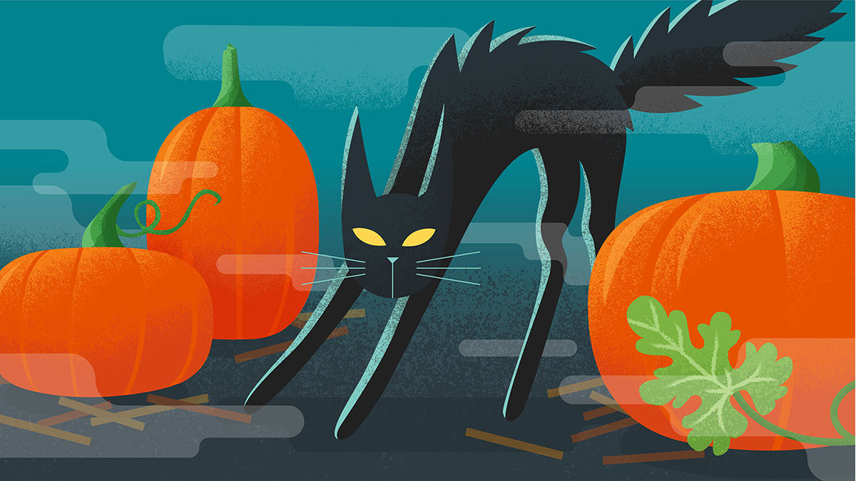 for the halloween 2016 campaign for google play which launched all across the world in late october included in the series is an illustration for da