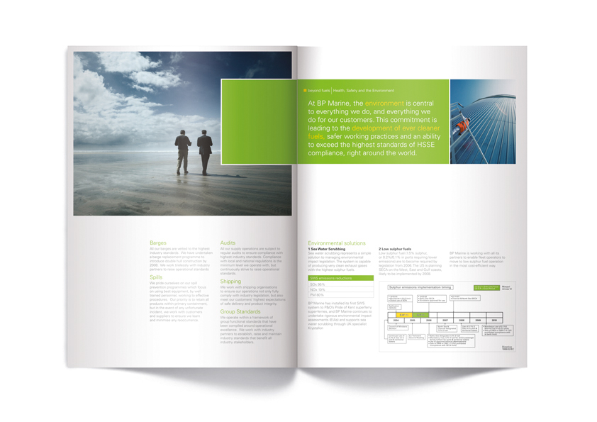 BP Fuels – Brochure Design – Archer Studio