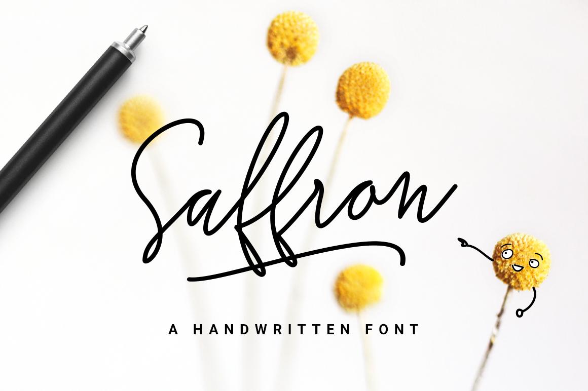 Saffron Handwritten Font On Behance