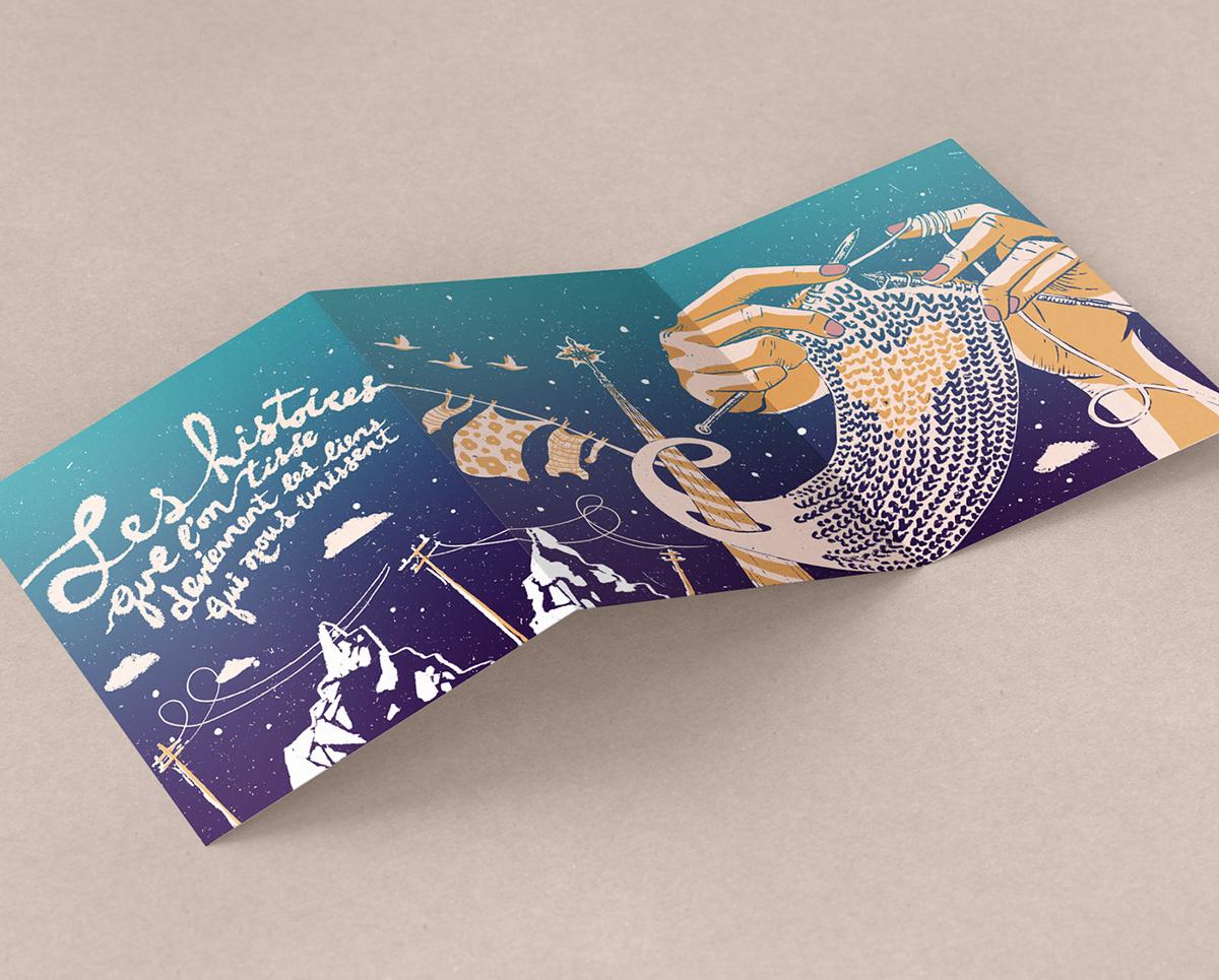 ILLUSTRATION  illustration québec print design art sérigraphie screenprint poster Street Art  fanzine