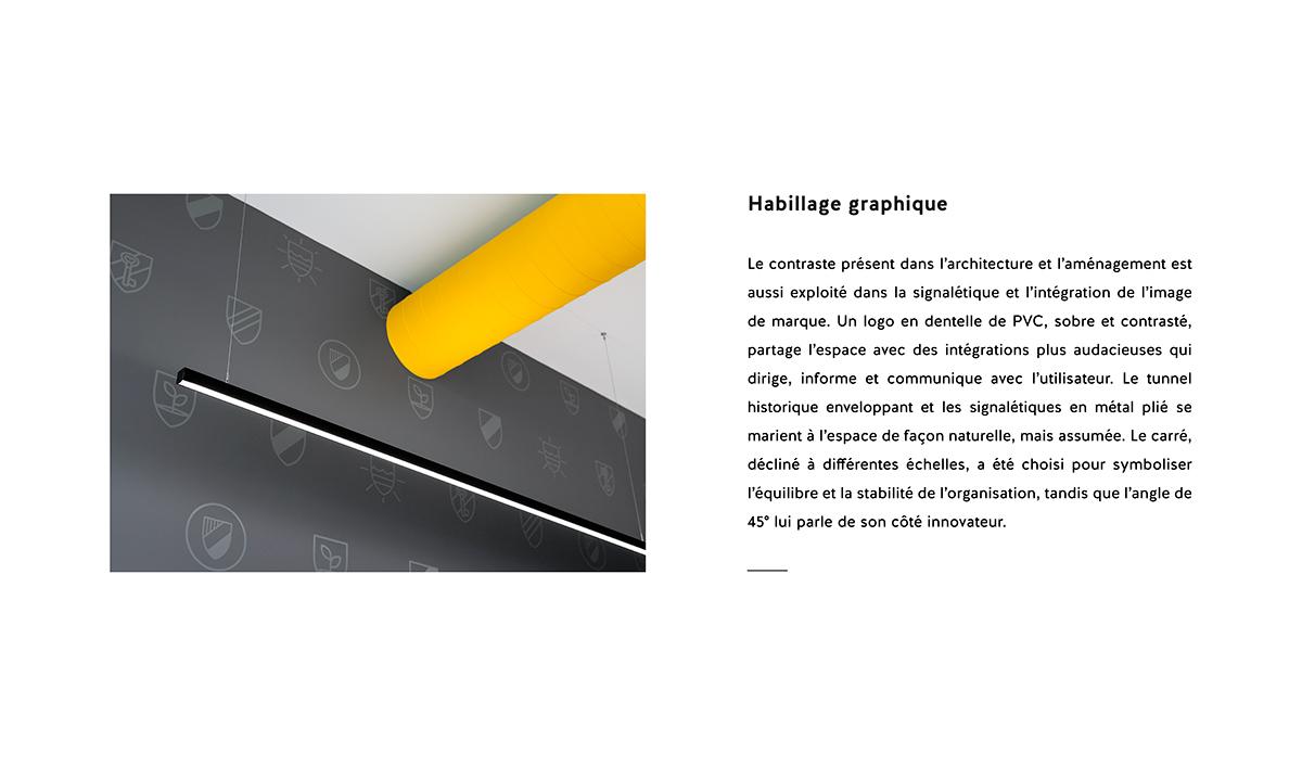 signalétique Montreal chantier graphique branding de lieu Space Branding marianne girard sarah dufour wayfinding