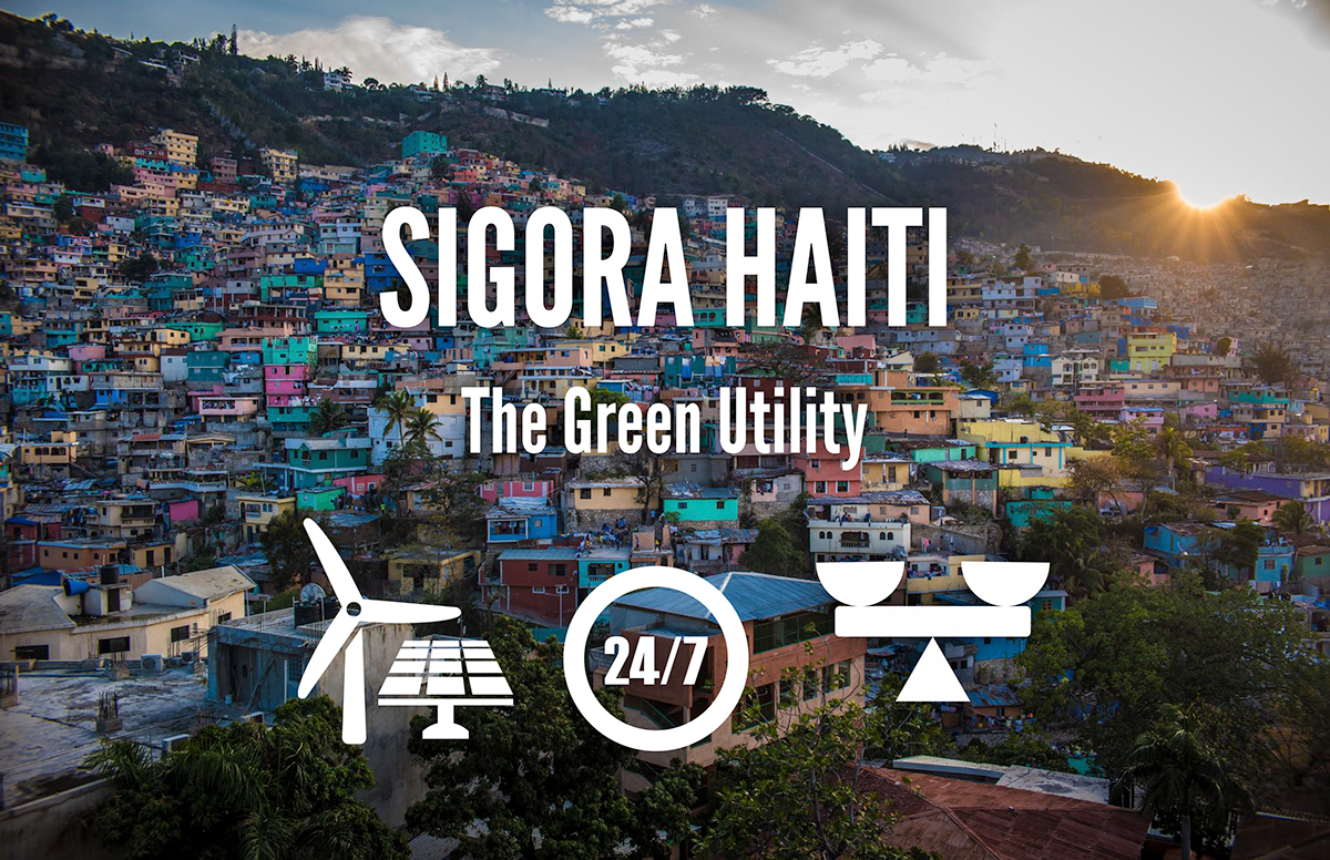 Investment Pitch Deck: Sigora Haiti - The Green Utility on