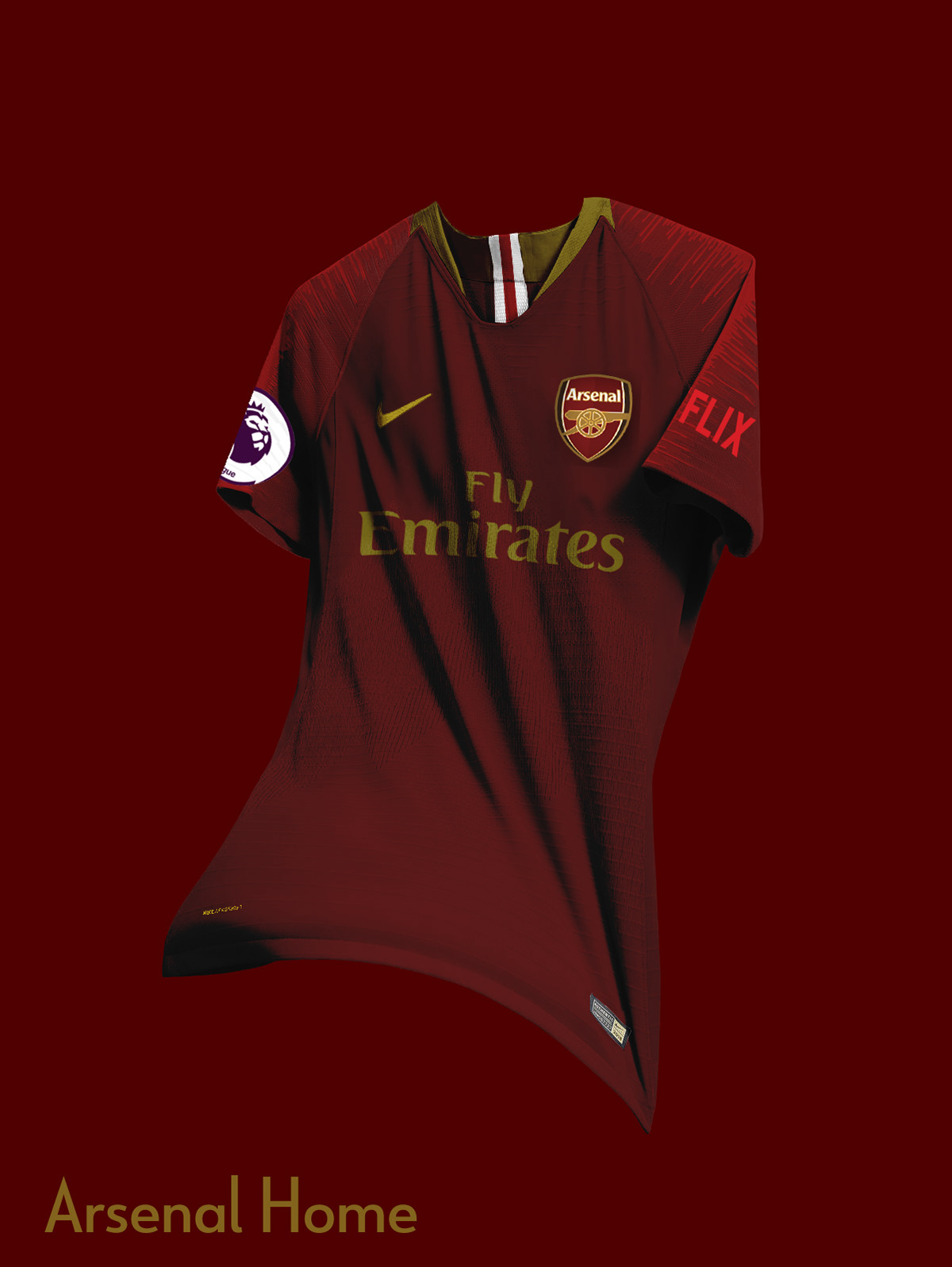 062cc160f96 Leave a like below if you enjoyed it! Save to Collection. Follow Following  Unfollow. Arsenal FC Nike Concept Kits ...