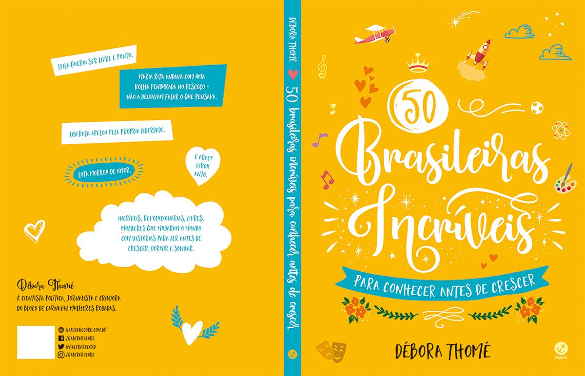 Design Of 50 Brasileiras Incriveis On Behance