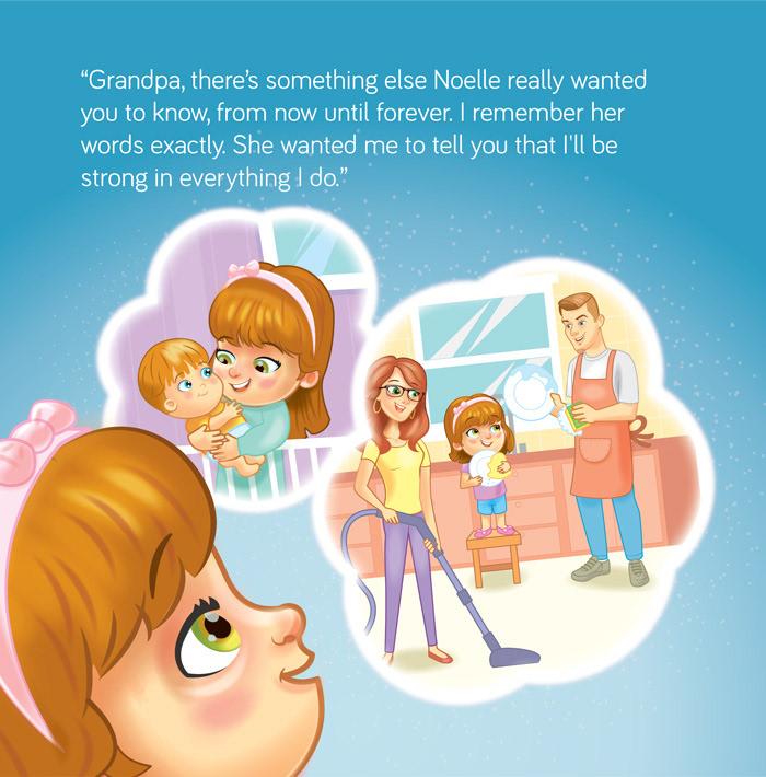 angel children colorful dream family Fun kidlit little girl Childlit Illustration children illustration