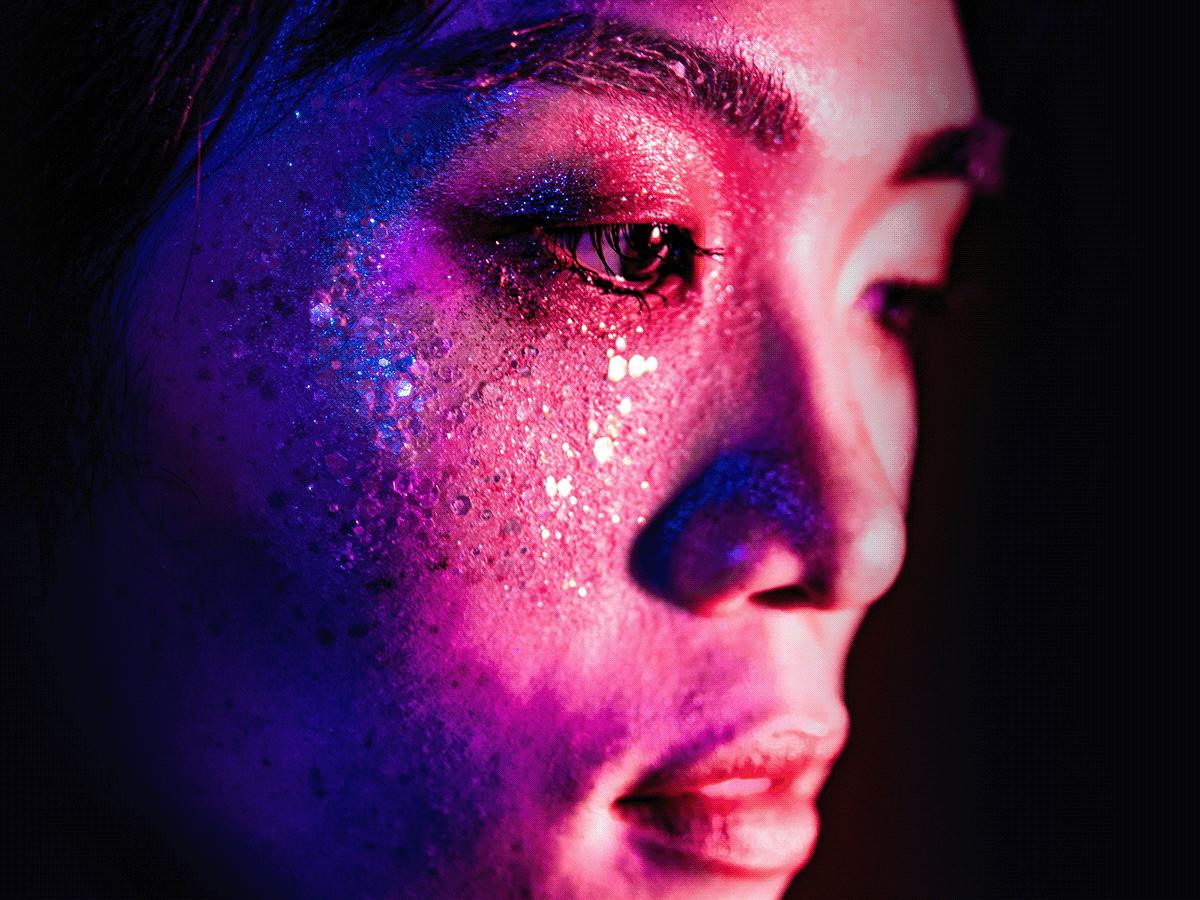 acting Circus Digital Art  drama makeup makeup art Photography  portrait